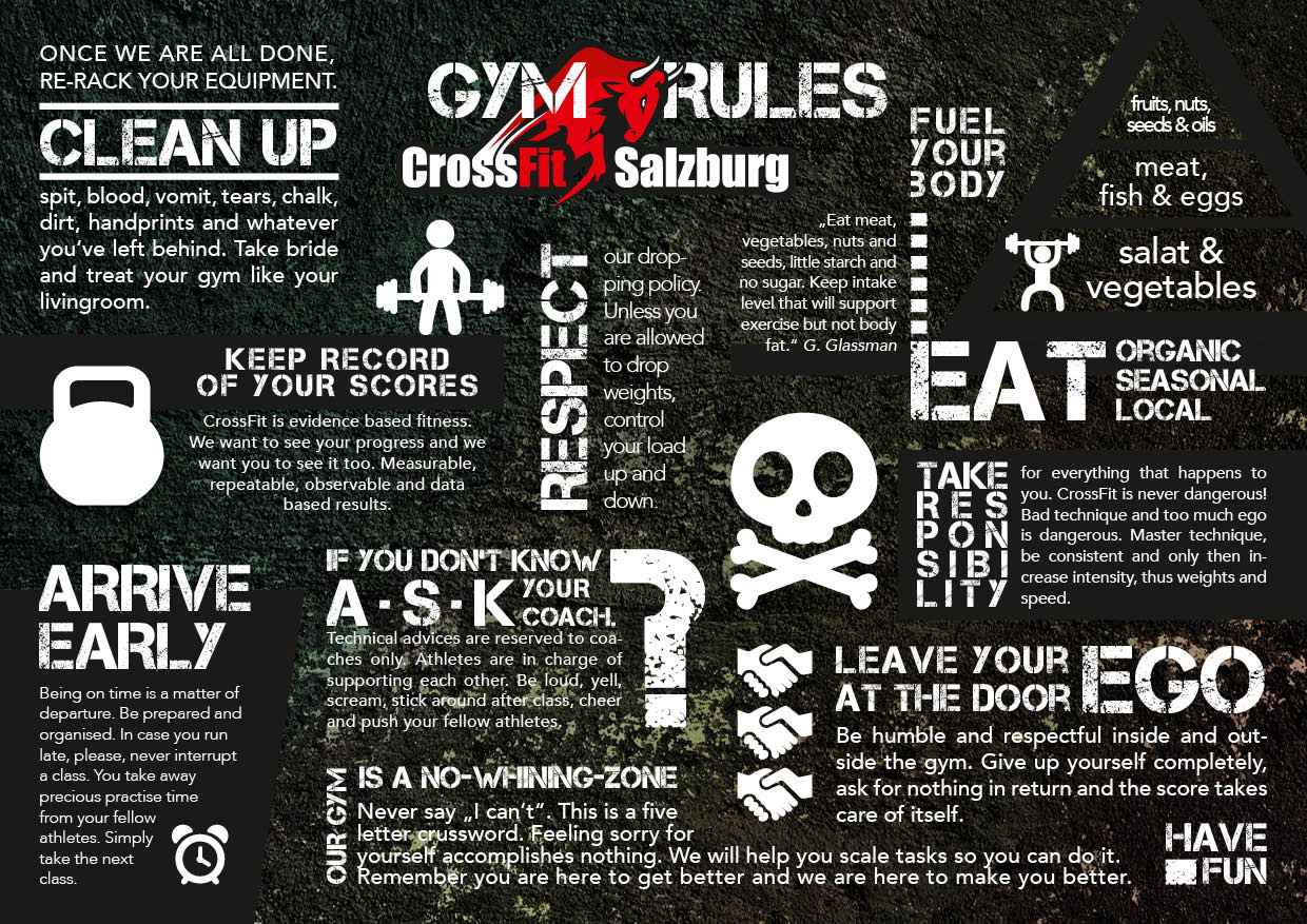 Crossfit Gym Rules